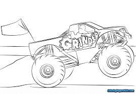 Monster Truck Coloring Pages Printable | Coloring Pages For Kids Super Monster Truck Coloring For Kids Learn Colors Youtube Coloring Pages Letloringpagescom Grave Digger Maxd Page Free Printable 17 Cars Trucks 3 Jennymorgan Me Batman Watch How To Draw Page A Boys Awesome Sampler Zombie Jam Truc Unknown Zoloftonlebuyinfo Cool Transportation Pages Funny