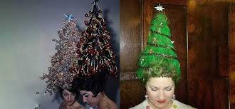 If You Want To Go All Out Why Not Literally Wear A Christmas Tree With Sparkly Decorations On Your Head Just Dont Forget The Angel Top