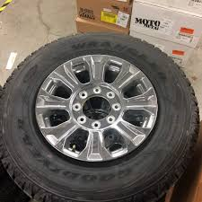 2017 OEM TAKE OFF CHROME SUPERDUTY 18 WHEEL AND TIRE GOODYEAR WRANGLER Goodyear Wrangler Dutrac Pmetric27555r20 Sullivan Tire Custom Automotive Packages Offroad 17x9 Xd Spy Bfgoodrich Mud Terrain Ta Km2 Lt30560r18e 121q Eagle F1 Asymmetric 3 235 R19 91y Xl Tyrestletcouk Goodyear Wrangler Dutrac Tires Suv And 4x4 All Season Off Road Tyres Tyre Titan Intertional Bestrich 750r16 825r16lt Tractor Prices In Uae Rubber Co G731 Msa And G751 In Trucks Td Lt26575r16 0 Lr C Owl 17x8 How To Buy