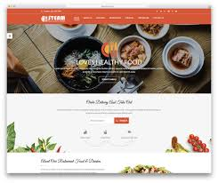 100 Food Truck Websites 30 Best Website Templates That Satisfy All Lovers 2019