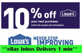 ONE 1x Lowes 10% OFF1Coupons-InStore And Online-SEND-_-FAST--- · $1.39 ·  Coupons How To Get A Free Lowes 10 Off Coupon Email Delivery Epic Cosplay Discount Code Jiffy Lube Inspection Coupons 2019 Ultra Beauty Supply Liquor Store Washington Dc Nw South Georgia Pecan Company Promo Wrapsody Coupon Online Promo Body Shop Slickdeals Lowes Generator American Eagle Outfitters Off 2018 Chase 125 Dollars Wingate Bodyguardz Best Coupons Generator Codes For May Code November 2017 K15 Wooden Pool Plunge