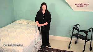 Stander Ez Adjust Bed Rail by Smart Rail Bed Rail Hcpsrs Youtube
