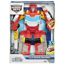 Transformers Rescue Bots Elite Heatwave Robot Fire Engine Truck | EBay