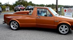 100 Rabbit Truck VW Pickup Caddy Drive By In HD YouTube