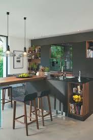 moderne küche mit bar 6 ideen für eine bartheke aus holz
