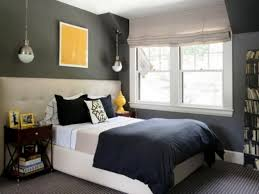 Awesome Accent Wall Ideas For Narrow Bedroom Decoration At Interior Design And View Gray
