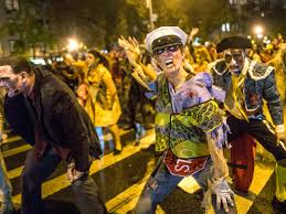 Greenwich Village Halloween Parade Youtube by Easily Entertained October 2014