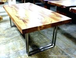 Diy Table Legs Wood Ideas Dining Fabulous Top Metal