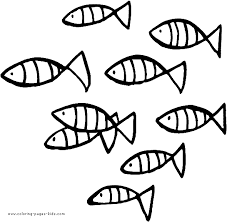 Small Fish Coloring Pages View Larger Image Credit Kidscom
