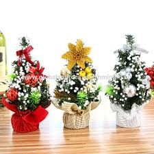 China Decorated Artificial Plastic Mini Table Top Christmas Tree