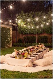 Backyards : Gorgeous 25 Best Ideas About Backyard Party Lighting ... Domestic Fashionista Backyard Anniversary Dinner Party Backyards Cozy Haing Lights For Outside Decorations 17 String Lighting Ideas Easy And Creative Diy Outdoor I Best 25 Evening Garden Parties Ideas On Pinterest Garden The Art Of Decorating With All Occasions Old Fashioned Bulb 20 Led Hollow Bamboo Weaving Love Back Yard Images Reverse Search Emerson Design Market Globe Patio Trends Triyaecom Vintage Various Design Inspiration