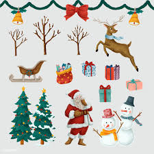 Hand Drawn Decorated Christmas Tree Free Stock Vector 520278