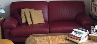 burov canapé canapé cuir 3 places burov meuble d occasion mymobilier petites