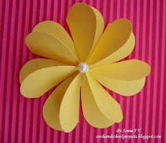Paper Flower Crafts For Preschoolers