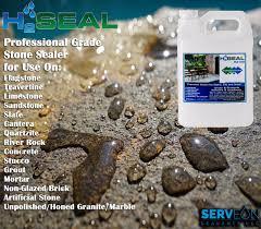 Dupont Bulletproof Tile Sealer by Serveon Sealants H2seal H2100 Stone Sealer Professional Grade