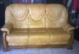 canape cuir rustique achetez canapé cuir rustique occasion annonce vente à trans en