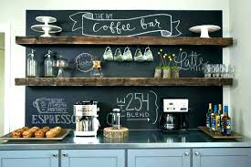 Coffee Stand For Kitchen Office Bar Brilliant