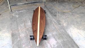 Pintail Longboard Deck Template by Pause Longboard Skateboard Youtube