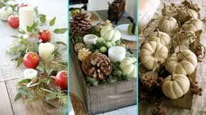 DIY Chic Style Fall Table Centerpiece Decor Ideas