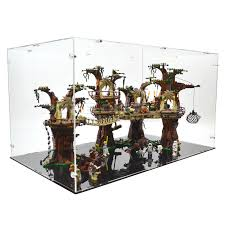 Lego 10236 Ewok Village Acrylic Display Case