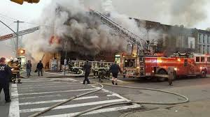 bed stuy fire engulfed mosque in flames says fdny bed stuy ny