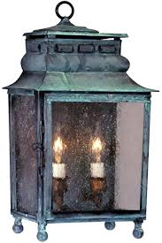 capital copper lantern outdoor wall light colonial