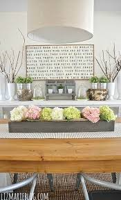 Dining Room Table Decorating Ideas by Best 25 Dining Room Table Centerpieces Ideas On Pinterest