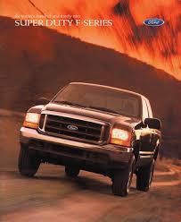 100 2001 Ford Truck 1999 Super Duty FSeries Sales Brochure