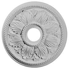 2 Piece Ceiling Medallion Canada by Shop Ceiling Medallions U0026 Rings At Lowes Com