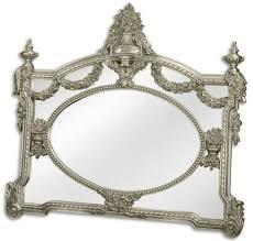 casa padrino barock spiegel silber 131 x h 116 5 cm garderoben spiegel wohnzimmer spiegel prunkvoller wandspiegel im barockstil