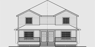 Images Duplex Housing Plans by Duplex House Plans Narrow Lot Duplex House Plans D 556