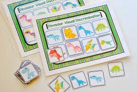 Dinosaur Visual Discrimination Game