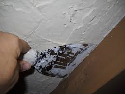 Asbestos In Popcorn Ceilings Arizona by Covering A Popcorn Ceiling With Plaster Dengarden