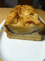 turbohausfrau apfelschichtkuchen mit honig und mohn