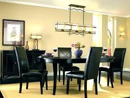 Dining Room Light Fixture Ideas Black Fixtures