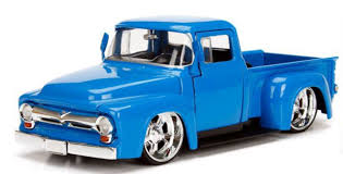 100 Ford Toy Trucks Jada 124 Just 1956 F100 Diecast Model