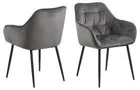 2x bruks esszimmerstuhl armlehne grau stuhl set esszimmer stühle küchenstuhl