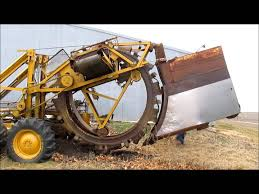 speicher bros 600 tandem traction trencher for sale sold at
