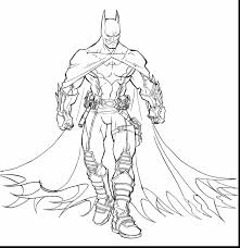 Amazing Batman Arkham Knight Coloring Pages With And Lego