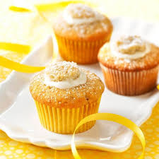 Cream Filled Banana Cupcakes