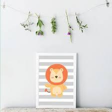 toile chambre décoration poster toile déco chambre enfant bébé trendisy
