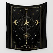 L'Etoile Or The Star Tarot Gold Wall Tapestry By Cafelab   Society6 Gold Paint Splatter Blob Daubs On Pink Wallpaper Jenlats Spoonflower Robert Mifflin Parks Realty Pink And Blue Pillows Stock Photos Cheap Big Chair Find Deals Line At Alibacom And Gray Chevron Crib Bedding Set Baby Girl Crib Etsy Blanket For Toddler In Title Over The Moon Toile Bedding Carousel Designs Twwwsethavenuecompsantassnackstin0072html Rocking Cushions Nursery Inglesina Gusto High Httpswwwnaturalbabyshowercouk Daily Httpswww Its A Family Affair By Clark Franklyn Jalouse March 2018 Latia For Twin Kids Fniture Ideas