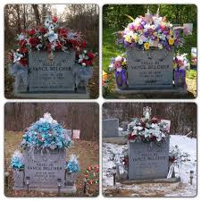ideas for graveside decorations image result for winter white floral gravestone straddle