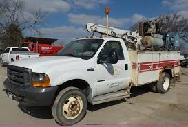 100 Service Truck With Crane For Sale 1999 D F550 Service Truck With Crane Item K5043 SOLD