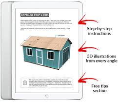 Free Storage Shed Plans 16x20 by 16x20 Gable Storage Shed Plan Howtobuildashed Org