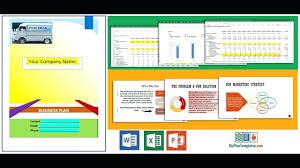 100 Trucking Company Business Plan Template Template For 268621280027