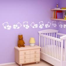 stickers ours chambre bébé stickers ourson achetez en ligne