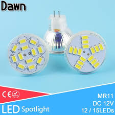 mr11 led spotlight dc 12v 3w 5w 5730 smd led l bulb energy