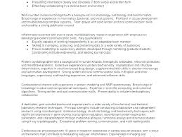 Professional Profile For Resume Example Of A Blue