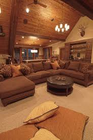 Brown Living Room Ideas by Best 10 Brown Sectional Ideas On Pinterest Brown Family Rooms